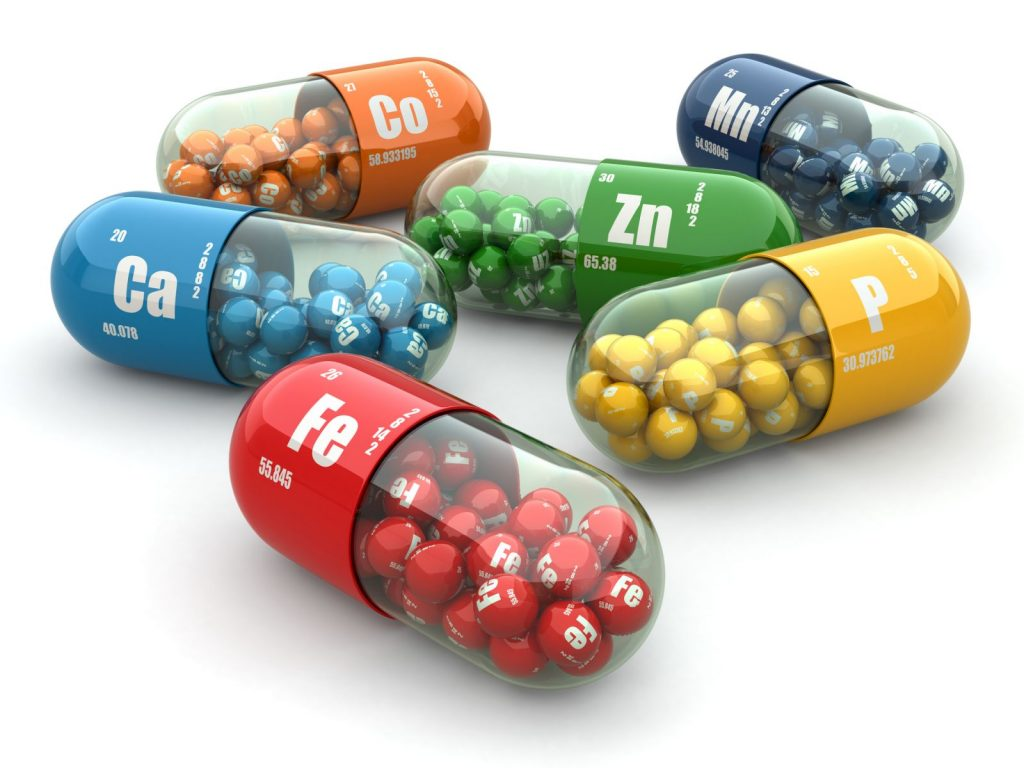 The food supplements for the human body